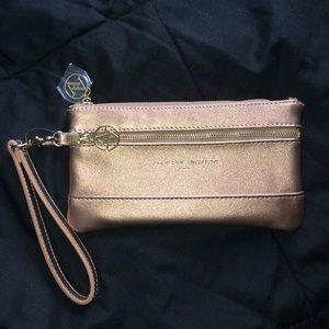 NWOT Rose Gold Wallet